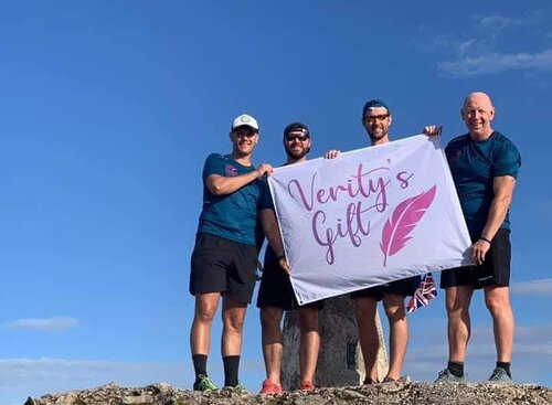 South Downs Water keeps charity team hydrated for epic take on the Three Peaks Challenge.